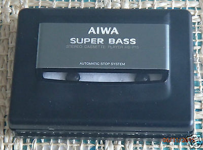 AIWA HS-P15 Vintage Stereo Cassette Tape Player New Without Original Packaging