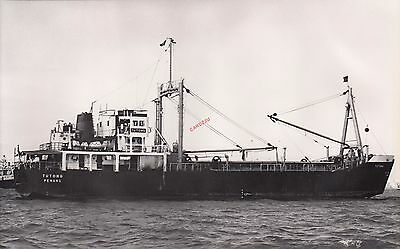 TUTONG Malaysian Cargo ship 1965 - Photograph