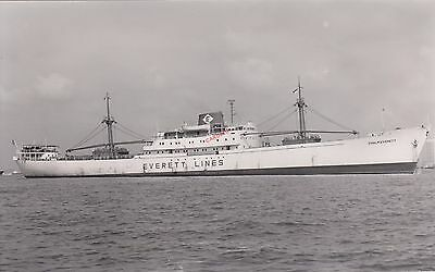 CHALMEVERETT 1960 refrigerated cargo vessel - photograph