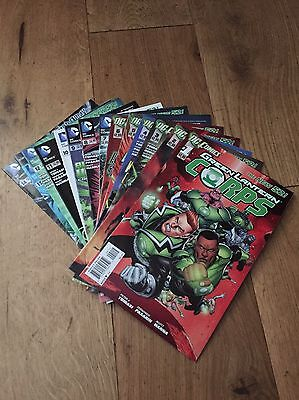 Green Lantern Corps - DC The New 52 - Issues #1 - #14
