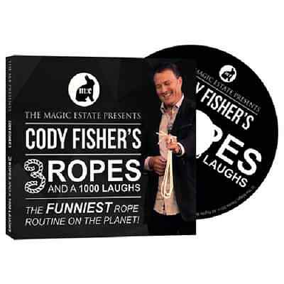 3 Ropes and 1000 Laughs by Cody Fisher - Rope Magic Trick Comedy