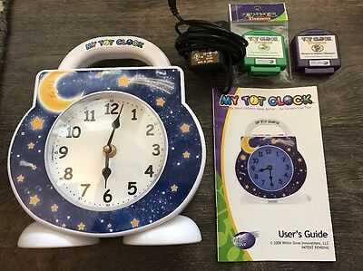 My Tot Clock - Original In EUC, Includes Two Story Cartridges