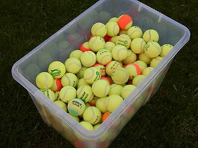 Used SOFT Tennis Balls - Ideal dog toys for the older dog 15, 30, 50 or 60 Balls