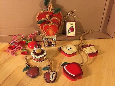 Collection of Apple Decor