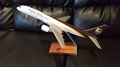 PacMin UPS Boeing Desk Top Display Model Aircraft Airplane Pacific Miniatures
