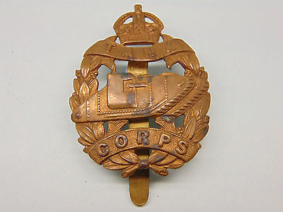 THE TANK CORPS O/R s CAP BADGE .