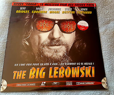 The Big Lebowski Laserdisc Vf Neuf Sous Blister   New Sealed