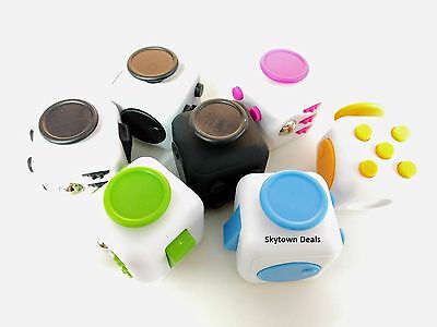Fidget Cube Anxiety Stress Relief Better Focus Toys Attention Therapy 6 Side Box