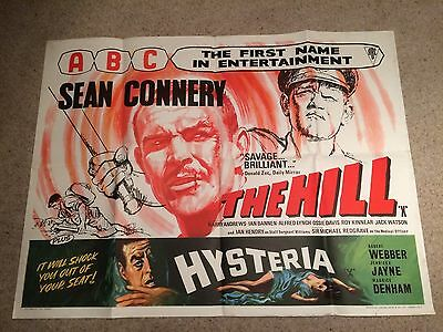The Hill Rare Alternate Version Quad Poster ABC Style With hysteria Hammer