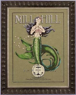 Merchant Mermaid Mirabilia Nora Corbett Cross Stitch Chart Md 117