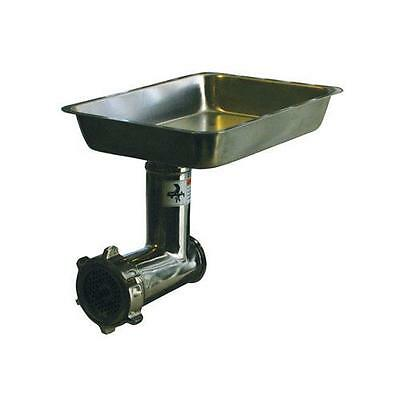 Alfa - 12 SS CCA - Complete #12 Stainless Steel Meat Grinder Attachment