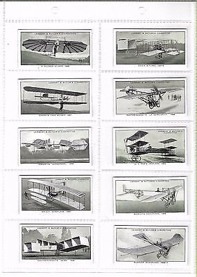L & B - A History Of Aviation  - Full Set - 1932 - Very Good