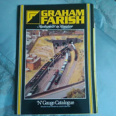 Graham Farish N Gauge Catalogue with September 1995 Order Form