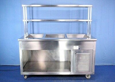 Aladdin Refrigerated Cold Food Counter Serving Station Salad Bar with Warranty