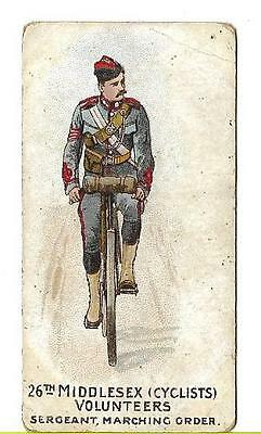 W.H. & J. WOODS - TYPES OF VOLUNTEERS AND YEOMANRY - 26th MIDDLESEX VOLUNTEERS