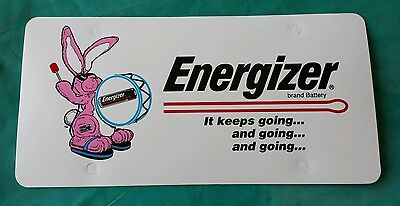 Energizer Bunny Battery Employee Advertising Promo License Plate