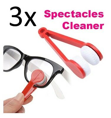 3-Pack Microfiber Cleaner for Eyeglass Sunglasses Spectacles, 5 Colors Available