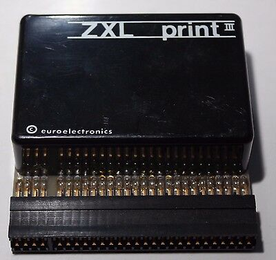 ZXL PRINT iii for SINCLAIR ZX 81 - Rare