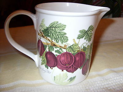Portmeirion Pomona Wilmot's Early Red Gooseberry Very Rare Small Pitcher Vgc+!!!