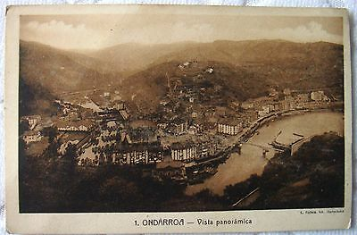 Vintage Postcard BW Andorra Unused