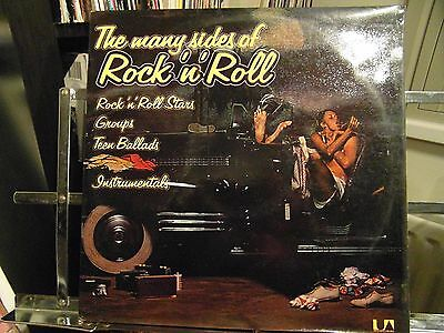 The Many Sides Of Rock 'n'  Roll - Ex Double Vinyl Lp - First Pressing  - Rare