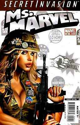 Ms. Marvel (2006 series) #29 in Near Mint + condition. FREE bag/board
