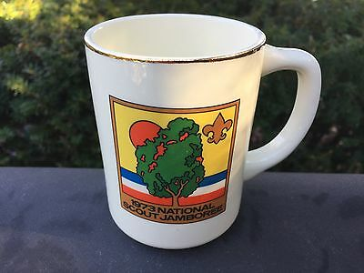 Boy Scout BSA 1973 National Scout Jamboree COFFEE MUG CUP
