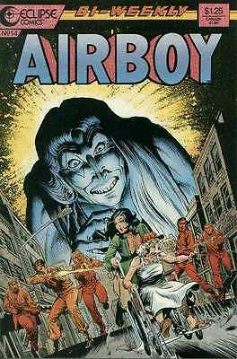Airboy (1986 series) #14 in Near Mint + condition. FREE bag/board