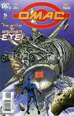 OMAC (2006 series) #5 in Near Mint + condition. FREE bag/board