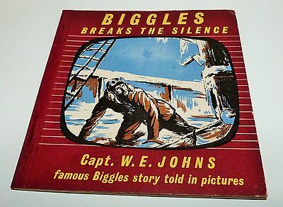Biggles Breaks The Silence Capt. W.e. Johns Fam Biggles Story Told In Pictures