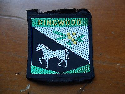 Ringwood District Scouts Cloth Badge #
