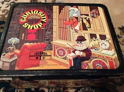 Vintage,1972 Curiosity Shop Thermos lunchbox