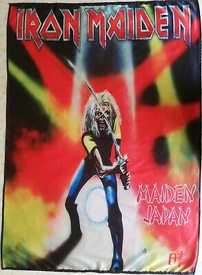 IRON MAIDEN Maiden Japan FLAG CLOTH POSTER WALL TAPESTRY BANNER CD Heavy Metal