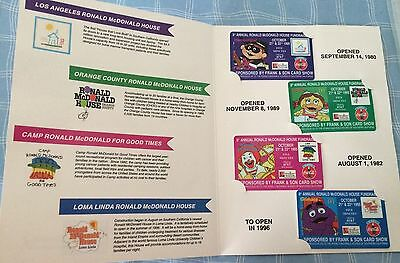 1995 McDonald's  Frank & Son's 3rd Edition Children's Charities Phone Card Set