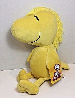 Woodstock Peanuts Character Stuffed Animal NWT 14 inches from Snoopy Cartoon