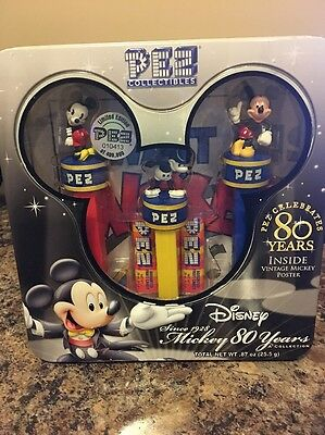 PEZ Collectibles Mickey 80 Years Limited Edition NIB