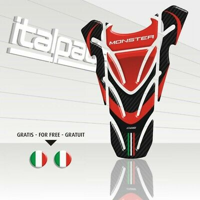 "Paraserbatoio per DUCATI Monster ""Top wings"""