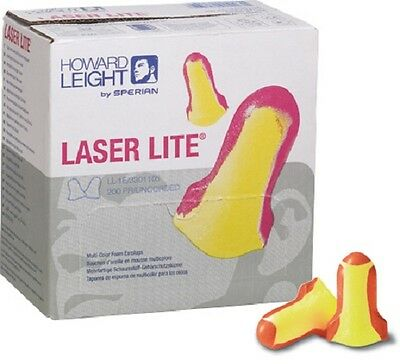 Bx/200 Pairs - Howard Leight - LL-1 - Laser Lite Disposable Earplugs - Uncorded