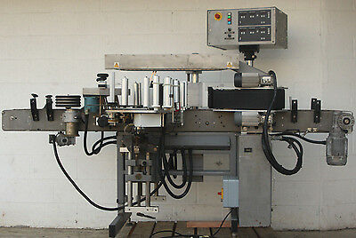Harland Sirius Pressure Sensitive Front & Back Labeling Labeler Machine System