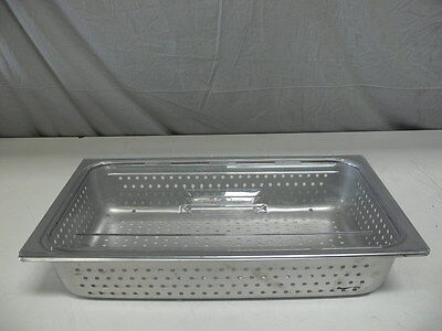 """21"""" x 13"""" x 4"""" Stainless Steel Tray with Top Cover Lid"""