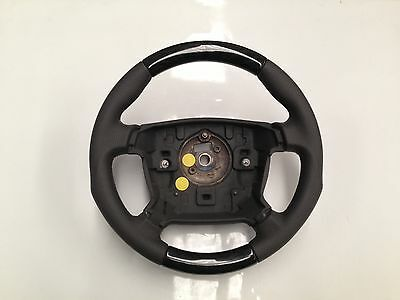 Ruby Mahogany CP137 Grey Steering Wheel to suit Ford BA – BF Falcon & Territory