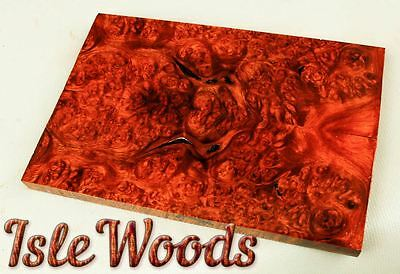 Amboyna Burl Exotic Wood Knife Scales 1911 Grips   SCL3040