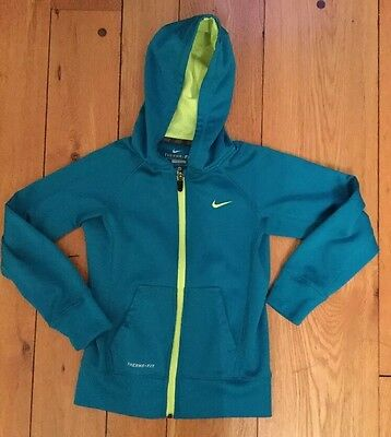 Unisex Nike Therma Fit Zip Hoodie Size Youth Small