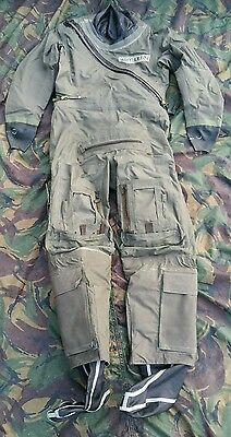 RAF Coverall Aircrew Immersion MK10 Drysuit Suit RN Survival