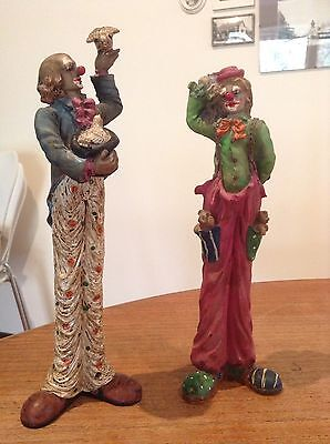 Ceramic Clown Ornaments