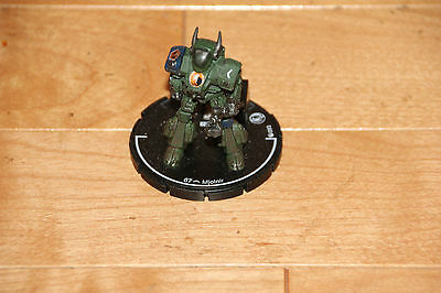 Swordsworn Green Mjolnir Mech Figure Mechwarrior Counter Assault Clix