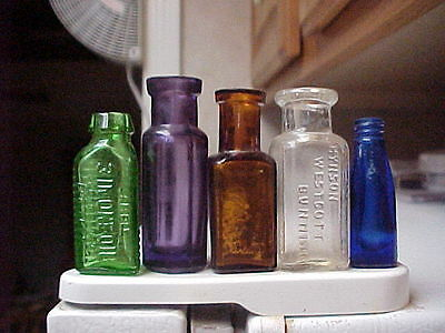 5 MINI Bottles - One Price - Poison Sample - Nice Colors - Check Them Out!