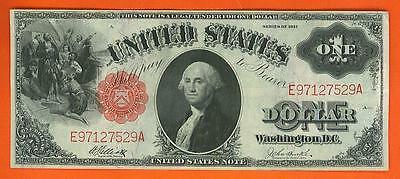 $1 1917 LARGE BEAUTIFUL CRISP LEGAL TENDER United States Note!!