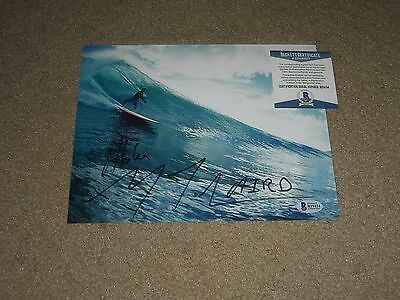 Laird Hamilton Signed Autographed 8X10 Photo Wow Surfing Big Wave Bas Beckett B