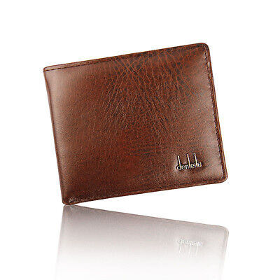 Men's Luxury Wallet Bifold Business Leather ID Credit Card Holder Purse Pockets